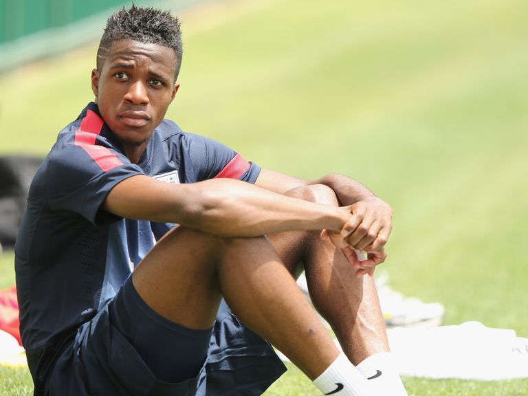 Wilfried Zaha: Trained alone with U21s