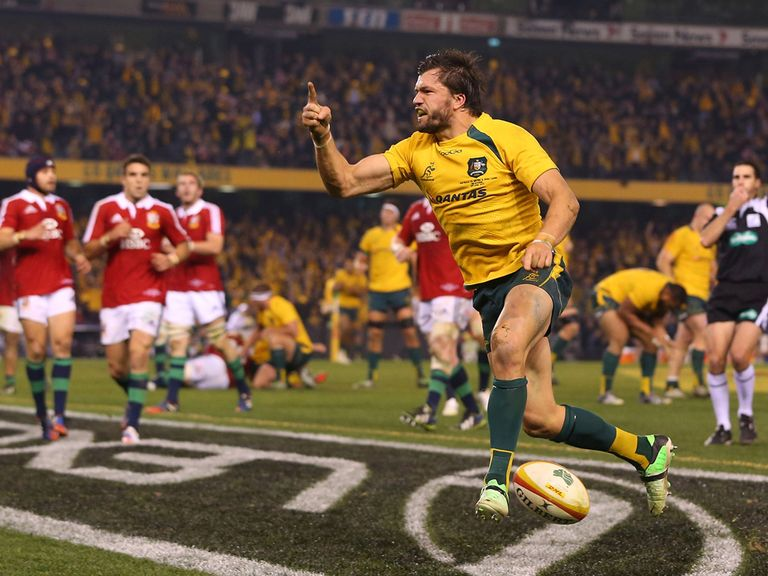 Australian hero Adam Ashley-Cooper with the match-winner