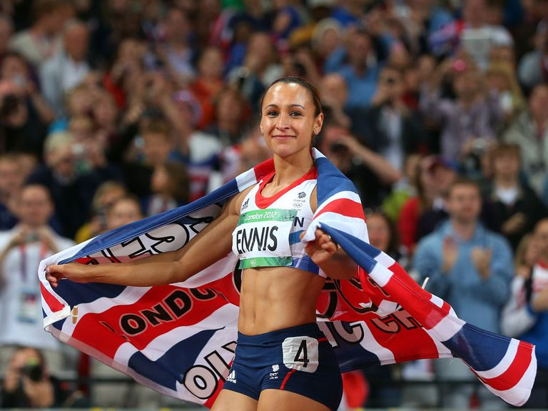 Jessica Ennis-Hill: Struggling with an ankle injury