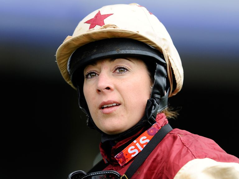 Hayley Turner: Battered and bruised after fall