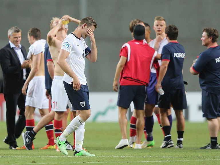 Woe for Jordan Henderson after England lose to Norway.