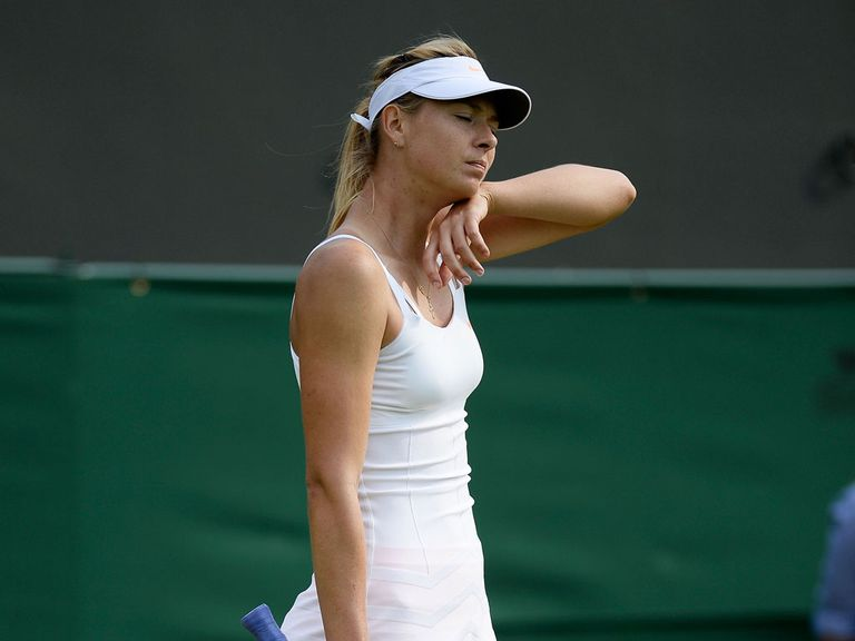 Maria Sharapova has been sidelined by an injured hip