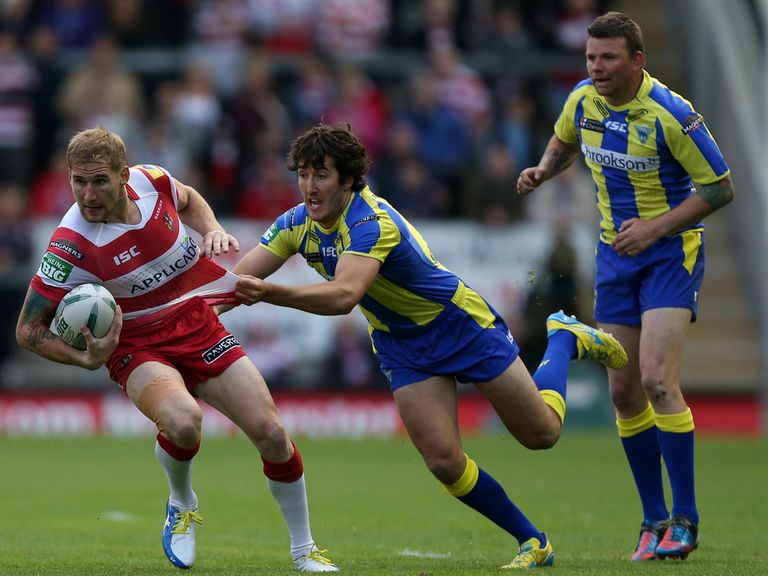 Sam Tomkins (red): Can help Wigan to an easy win
