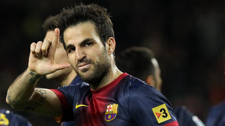 Cesc Fabregas: Barcelona midfielder remains a transfer target for Manchester United