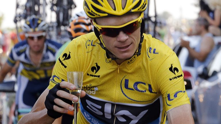 Chris Froome completed his remarkable journey on the Champs-Elysees
