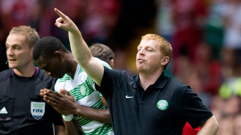 Neil Lennon: His Celtic side won 2-0 against Cliftonville on Tuesday