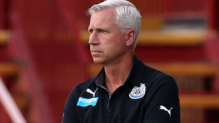 Alan Pardew: Frustrated by transfer market