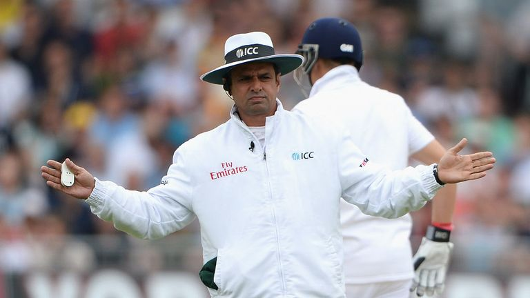 Aleem Dar: Came under scrutiny during first Ashes Test