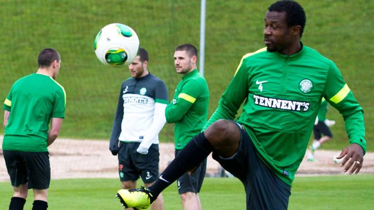 Efe Ambrose: Looks set to start for Celtic when they play Cliftonville