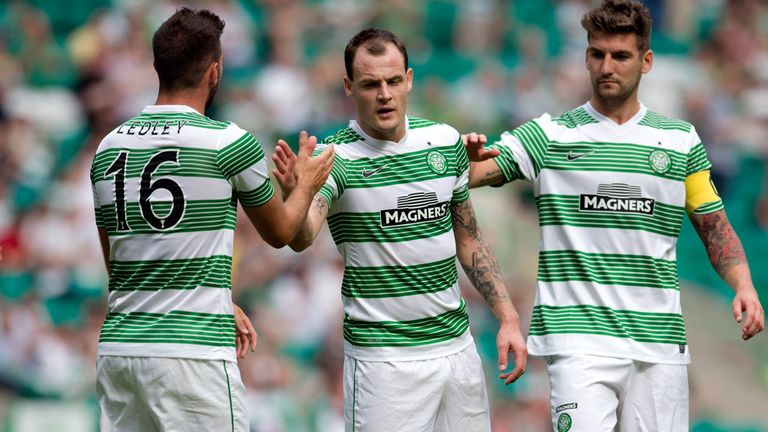 Anthony Stokes: On target in Celtic's defeat to Borussia Monchengladbach