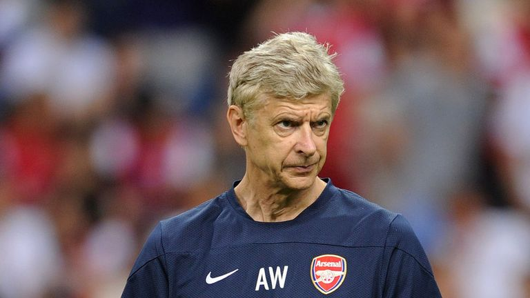 Arsene Wenger: Under pressure in the transfer market once again