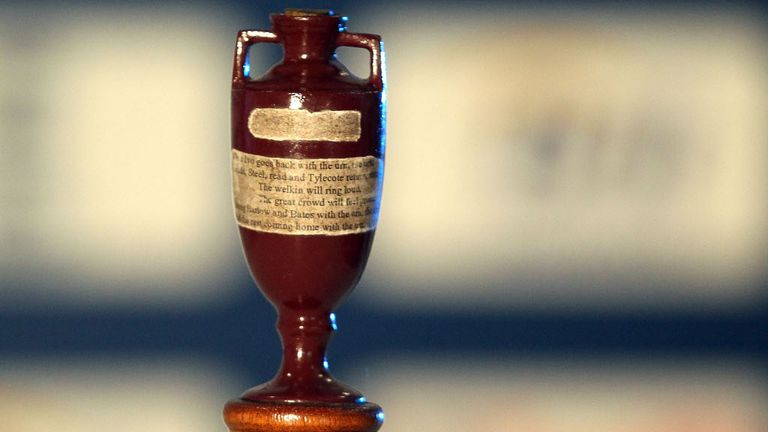 The Ashes urn will be in Alastair Cook's hands at the Oval today