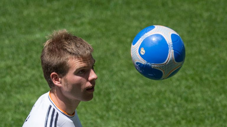 Illarramendi: will flourish at Real, says Guillem, in time