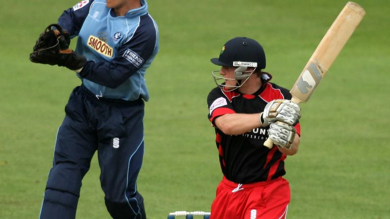 Ben Wright: Glamorgan batsman stood firm as wickets tumbled around him