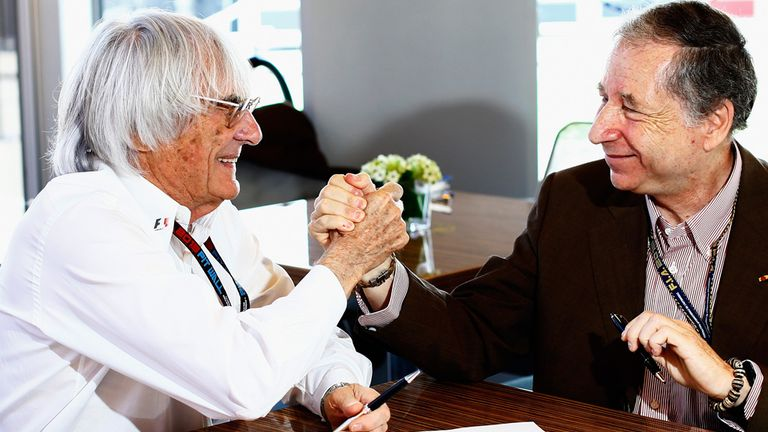 Bernie Ecclestone: Reached agreement on the sport's future with Jean Todt