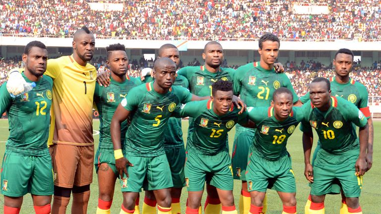 Cameroon: Have been provisionally suspended by FIFA