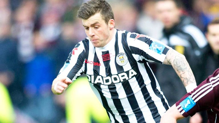 Graham Carey: Former St Mirren midfielder is one of four trialists at Dundee United