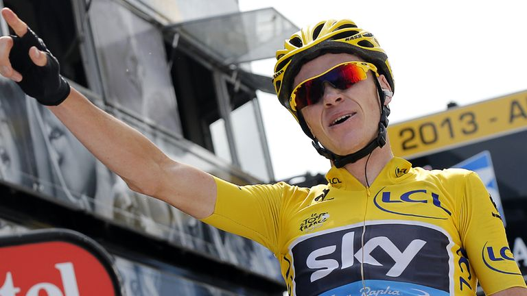 Chris Froome delivered a superb ride on Mont Ventoux