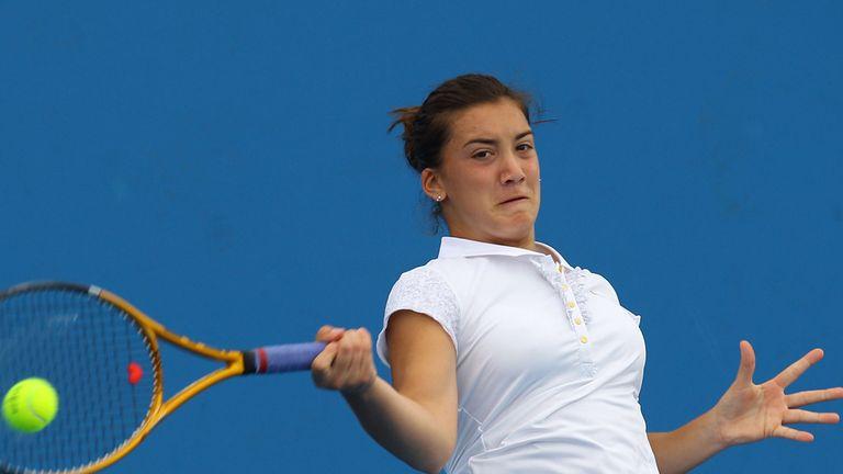 Danka Kovinic: Through to quarter-finals on WTA Tour debut