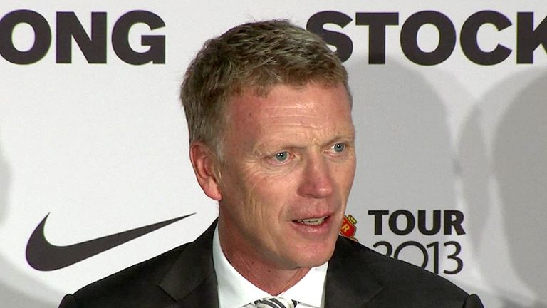 David Moyes: Calm and composed as he faced questions on Wayne Rooney's future