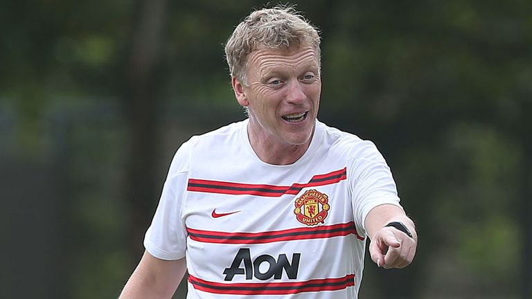 David Moyes: Manchester United boss is happy his current squad will challenge for honours