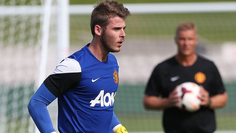 David De Gea: Wants more Spaniards to make the move to the Premier League