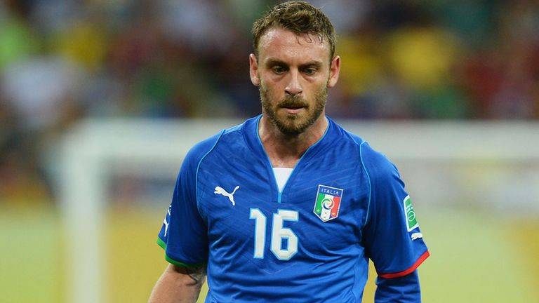 Daniele De Rossi: Left out of Italy squad