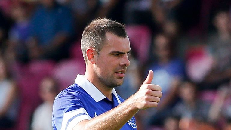 Darron Gibson: Is hopeful he can stay fit for the rest of the season