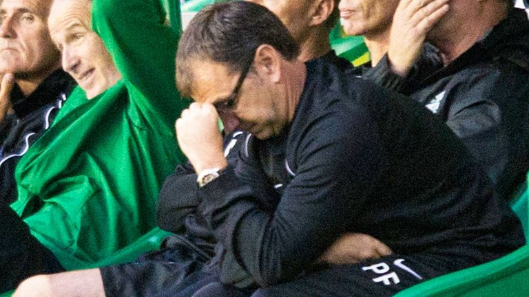 Pat Fenlon: Has received the support of the Hibernian chairman