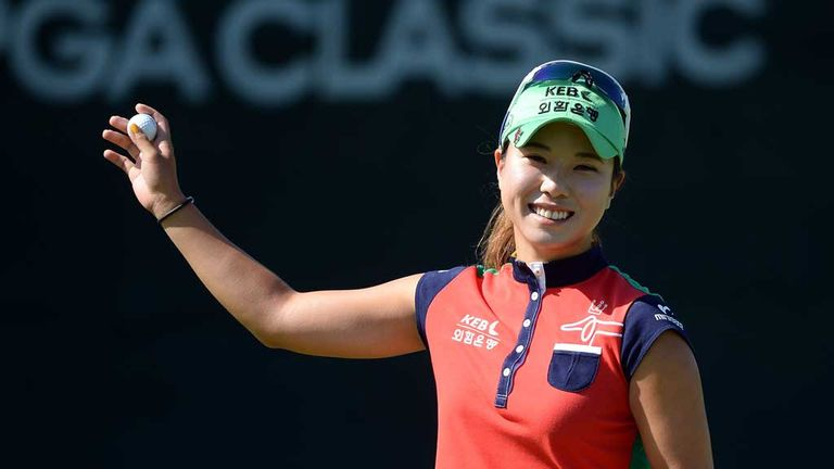 Hee Young Park: Nine birdies and an eagle