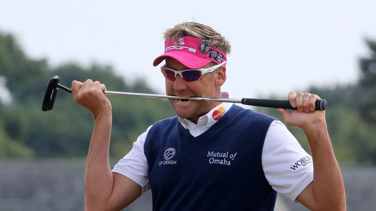 Ian Poulter: Wants to be closer to the lead after 54 holes