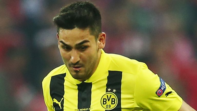 Ilkay Gundogan: The Dortmund star is recovering from a back injury