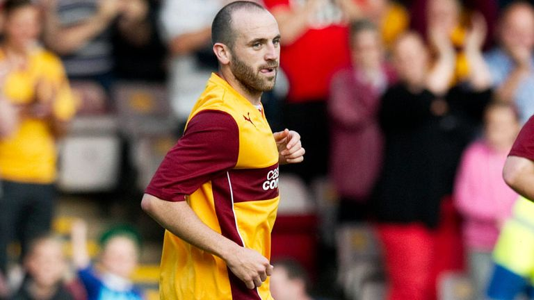 James McFadden: Opener for Motherwell