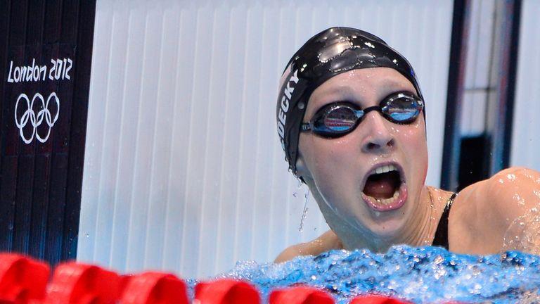Katie Ledecky: Smashed world 1500m record