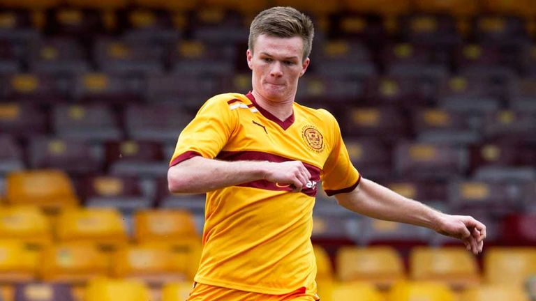 Fraser Kerr: Defender has sealed a two-year deal with Motherwell following a loan spell at the club last season