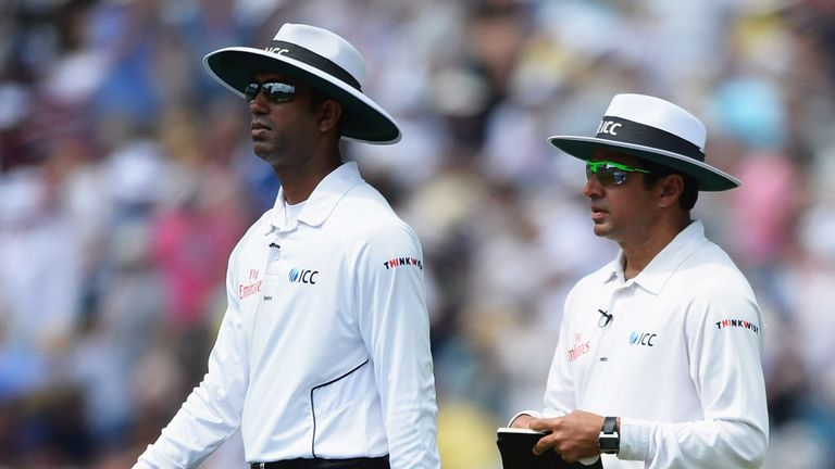 Kumar Dharmasena and Aleem Dar: Backed by employers