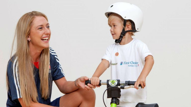 London 2012 double Olympic gold medallist Laura Trott has teamed up with First Choice to launch the innovative Balanceability programme