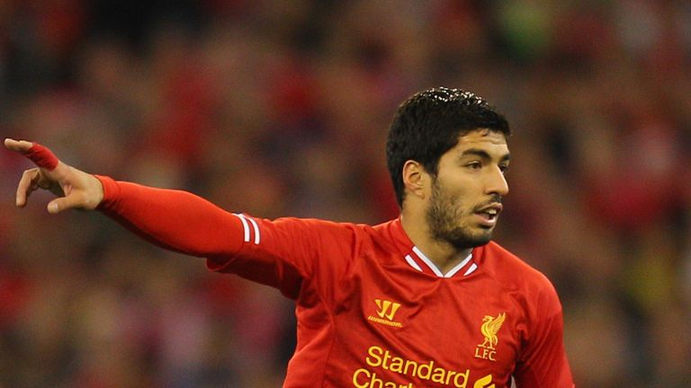 Luis Suarez: The subject of a bid from Arsenal