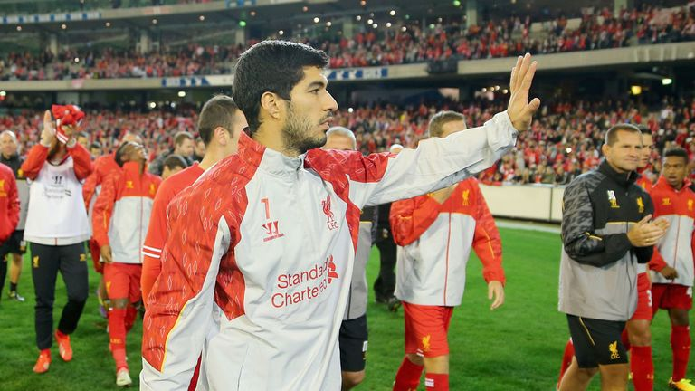 Luis Suarez: Liverpool striker is wanted by Premier League rivals Arsenal