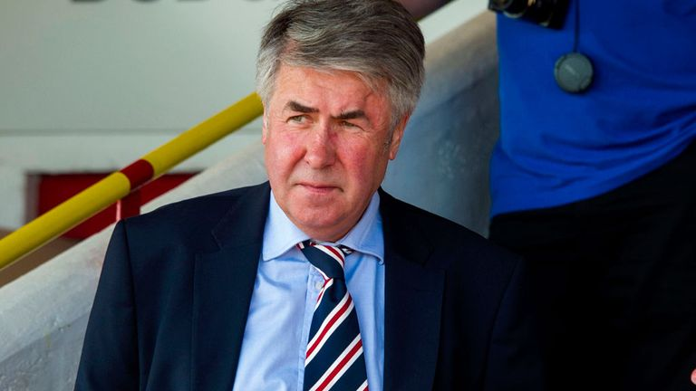 Malcolm Murray, leaving Rangers