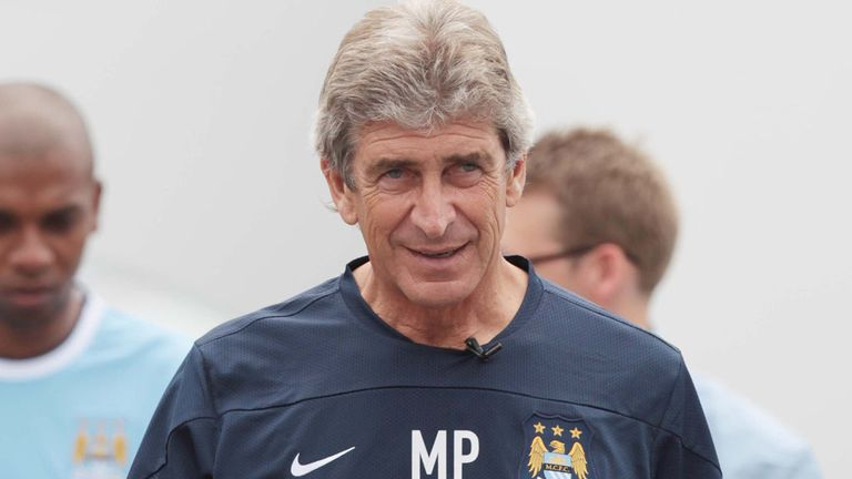 Pellegrini: replaced Roberto Mancini as City boss earlier this summer