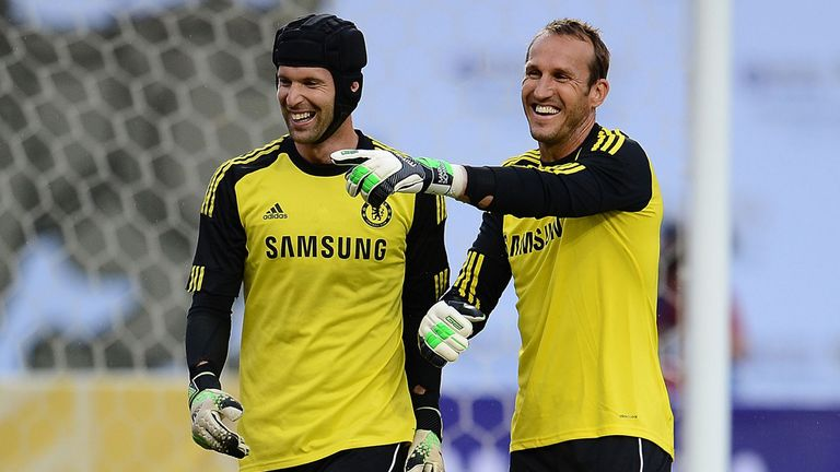 Schwarzer to compete with Cech for Chelsea No 1 spot