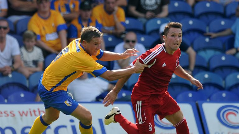 Radoslaw Majewski: Gets away from Mansfield's Jamie McGuire