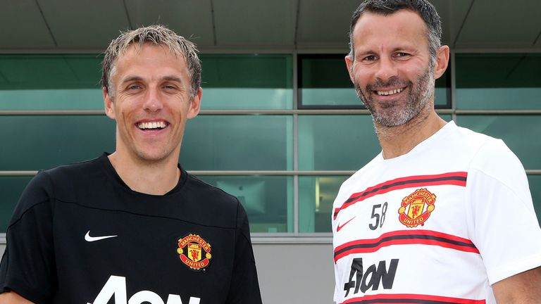Phil Neville and Ryan Giggs: Manchester United coaching roles for duo