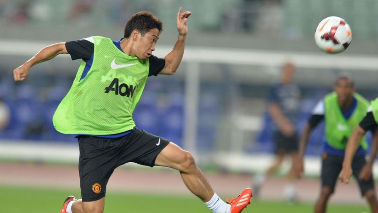 Shinji Kagawa: Wants first-team place