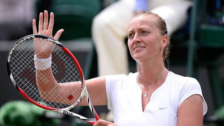 Petra Kvitova: Former winner is through to the quarter-finals of Wimbledon