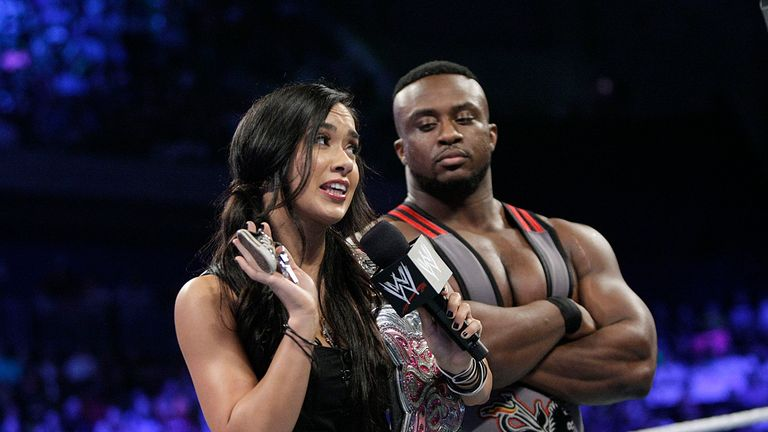 AJ and Big E: beaten by blondes