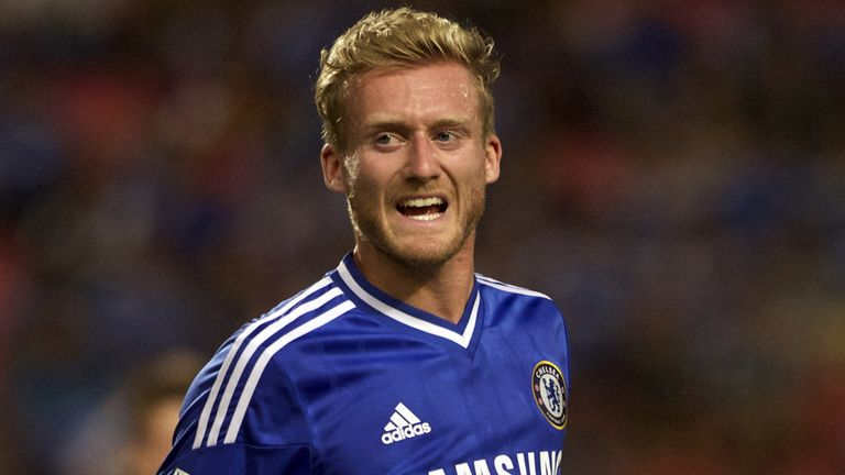 Andre Schurrle: Determined to impress at Chelsea