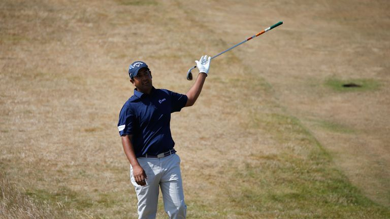 Shiv Kapur: led the Open after six birdies in his first seven holes