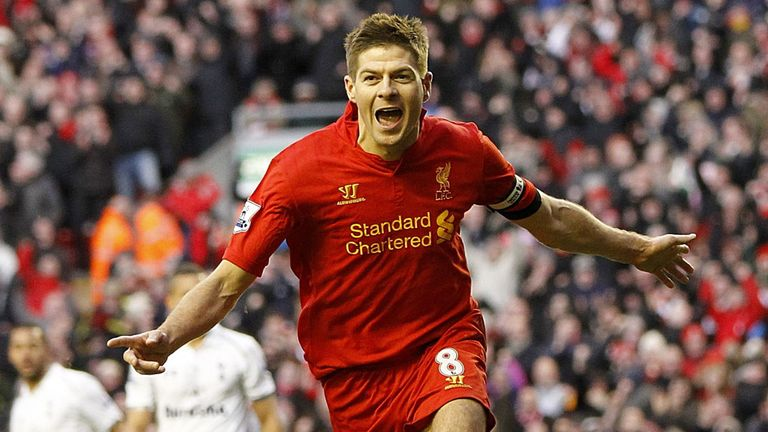 Steven Gerrard: Glad to have finalised an extension